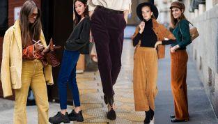 Pantaloni a costine, il ritorno dello stile grunge