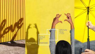 Illuminating e Ultimate Gray: i nuovi colori Pantone del 2021