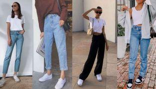 Straight jeans: lo stile comodo e retrò che (ri)conquista la primavera 2021