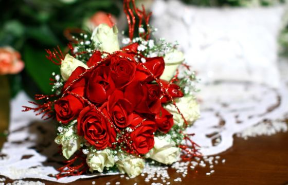 Addobbi Natalizi Matrimonio.Bouquet Da Sposa Per Matrimonio A Natale