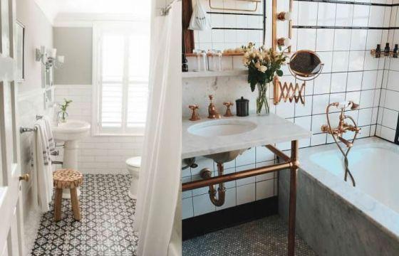 Bagno stile vintage for Cucina y bagno