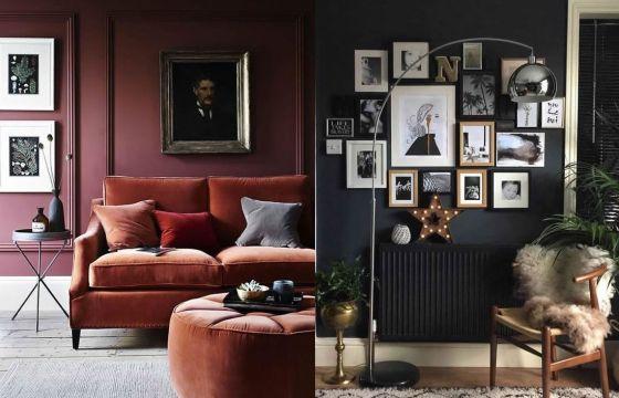 Arredare casa con pareti scure - Arredare casa economicamente ...
