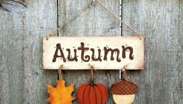 10 idee per decorare casa in autunno
