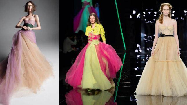 Abiti da sposa colorati: i modelli da non perdere per il 2019