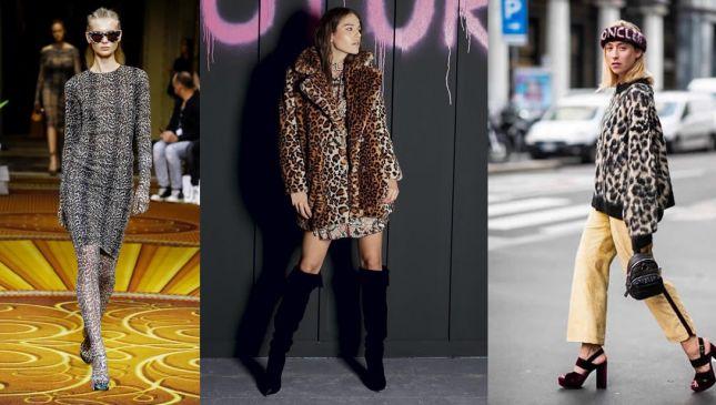 Trend stampe animalier: il trionfo del leopardato
