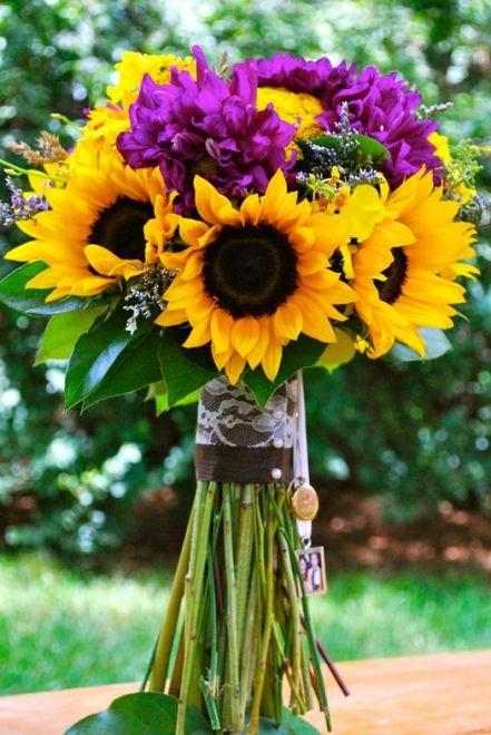 Idee Matrimonio Girasoli : Bouquet con girasoli idee da cui prendere spunto