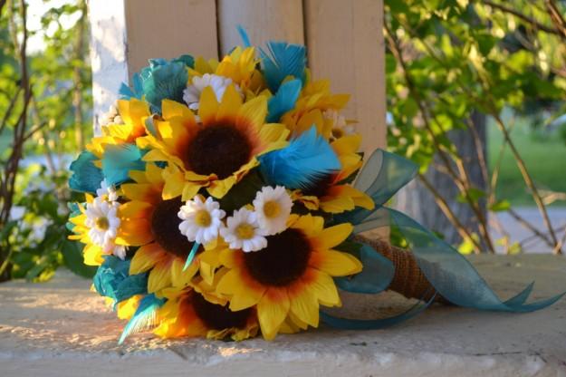 Bouquet Sposa Con Girasoli.Bouquet Con Girasoli 20 Idee Da Cui Prendere Spunto