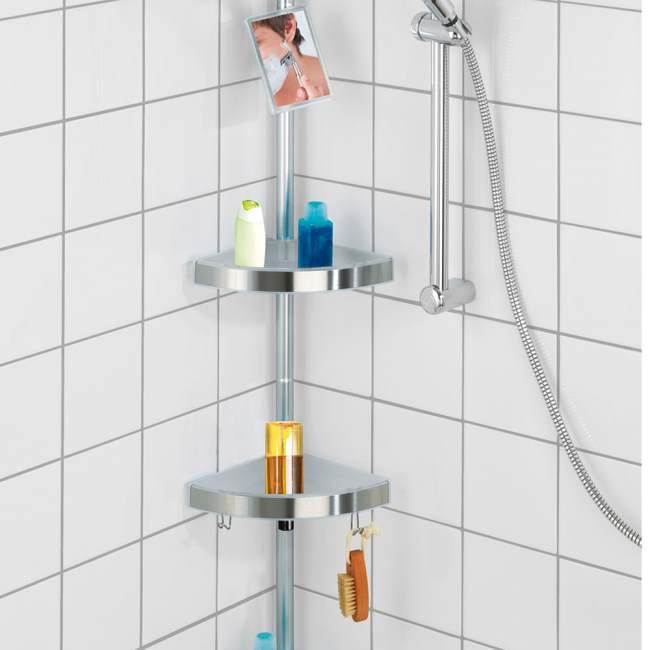 Accessori salva spazio per il bagno - Porta bagnoschiuma per doccia ...