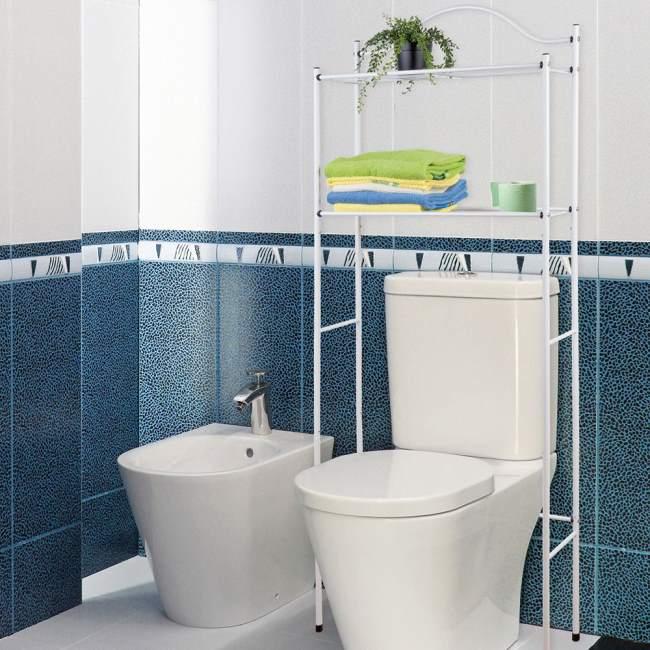 Accessori salva spazio per il bagno - Ingombro sanitari bagno ...