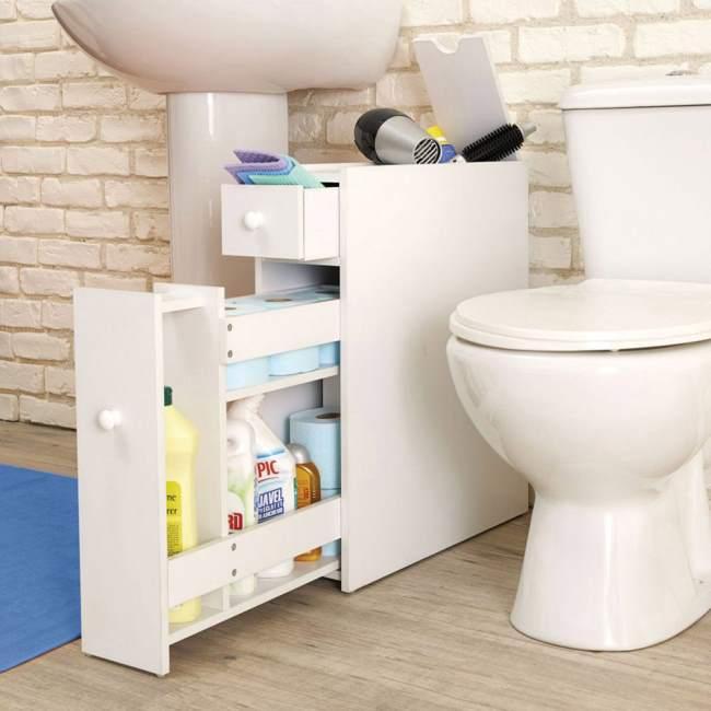 Accessori salva spazio per il bagno - Armadietti per bagno ...