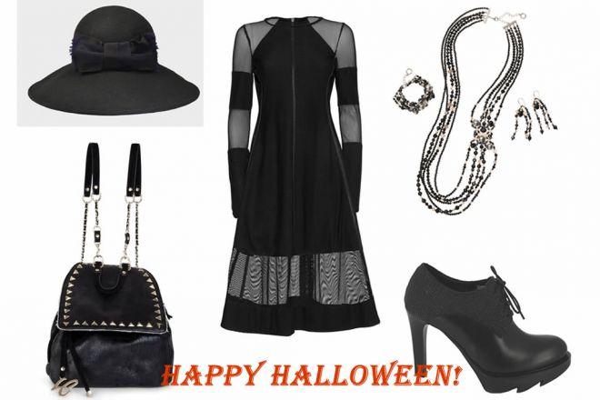 Look della settimana: Halloween in black