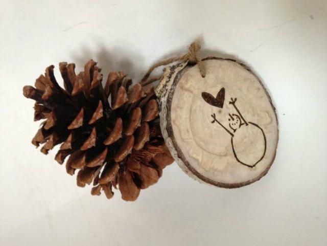 Addobi di natale in legno - Decorazioni natalizie in legno ...