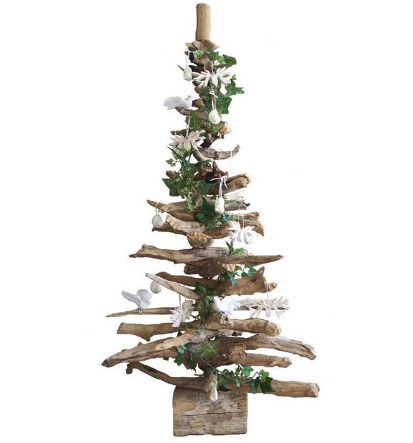 Tendenza moda natale gli alberi con i rami secchi - Decorazioni rami secchi ...