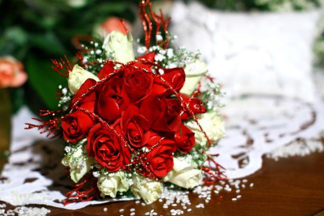 Popolare Bouquet da sposa per matrimonio a Natale MX36