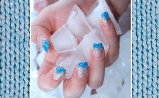 decori frozen o knitting per le unghie