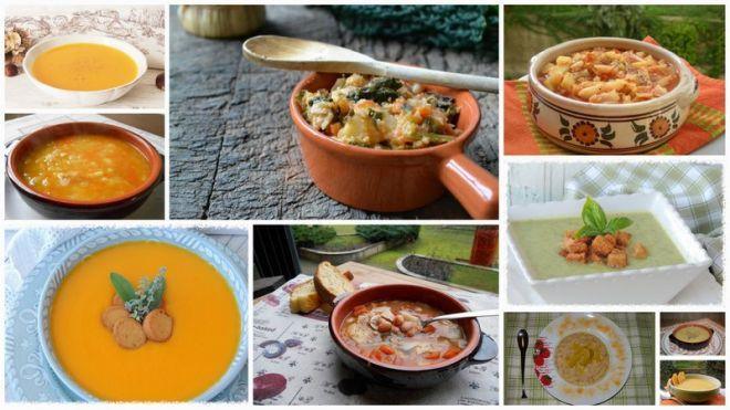 10 zuppe invernali per un calda cena