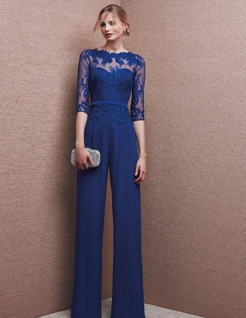 Amato Vestito blu con pantalone PR76