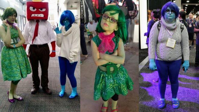 Carnevale: costume da personaggi di inside out