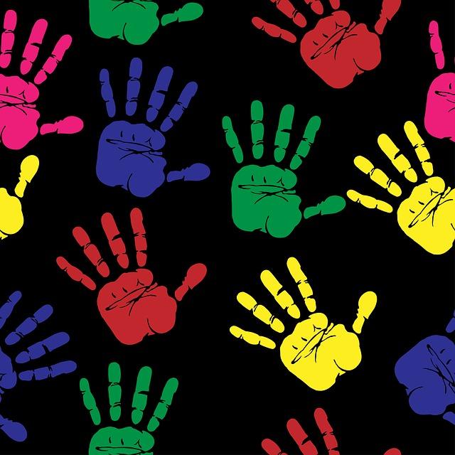 Impronte mani
