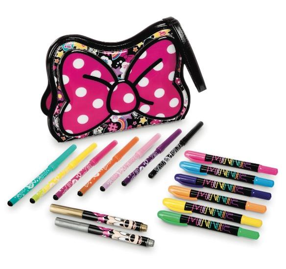 Disney Store - Set Astuccio con pennarelli Minnie