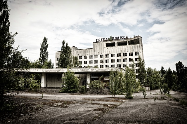 Pripyat in Ucraina