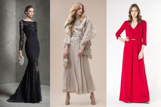 Abiti da cerimonia: le proposte eleganti per l'inverno 2017