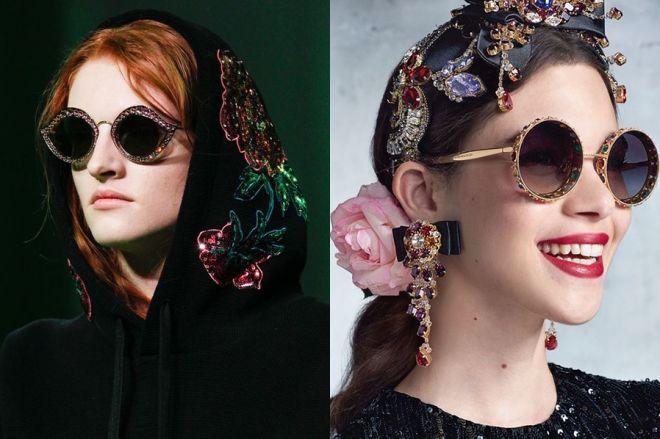 Occhiali da sole moda primavera estate 2017