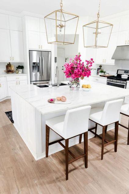 Trend oro in casa - Lampadari in cucina ...