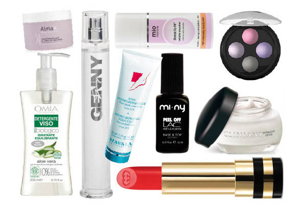 Aprile 2017: il beautycase del mese