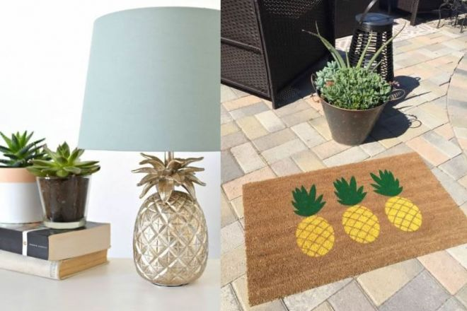 Arredare casa con gli ananas for Arredamento coloniale