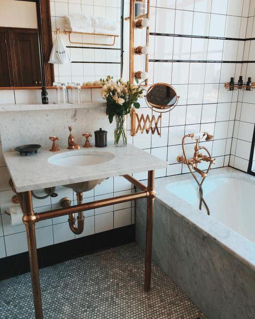 Bagno stile vintage - Rubinetteria retro bagno ...