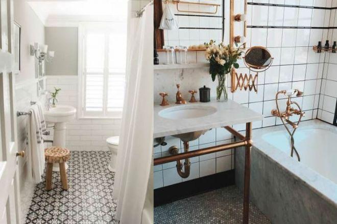 Bagno stile vintage - Arredare un bagno ...