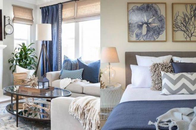 Arredo bianco e blu per la casa estiva: lo stile coastal
