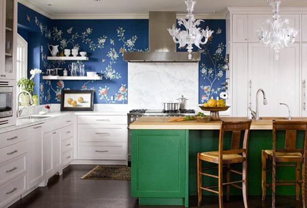 Come scegliere le carte da parati moderne - Carta parati cucina lavabile ...