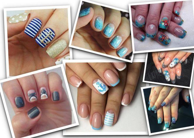 Sea nail art, le unghie da sfoggiare col bikini