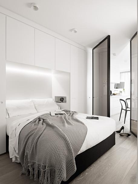 Arredare una stanza da letto piccola - Porta a specchio ...