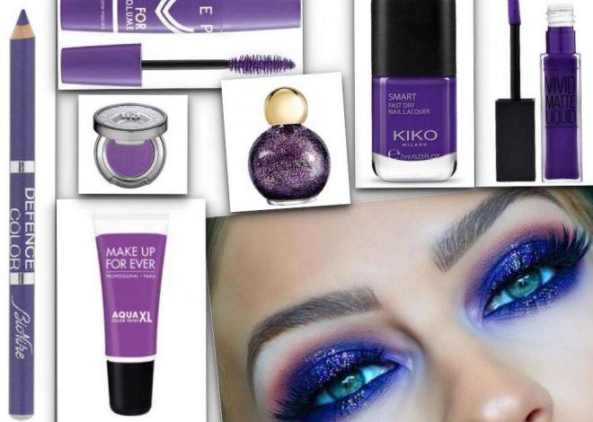 Truccati in Ultra Violet, il colore del 2018