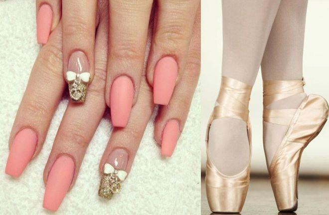 """Quanto sono fashion le unghie """"a ballerina""""!"""