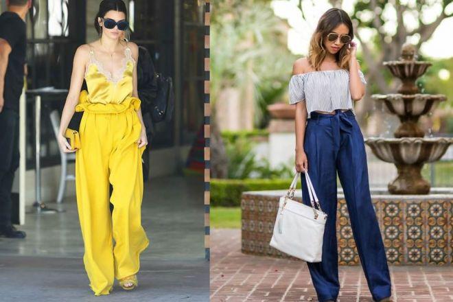 Pantaloni paper bag: caratteristiche, modelli e a chi stanno bene