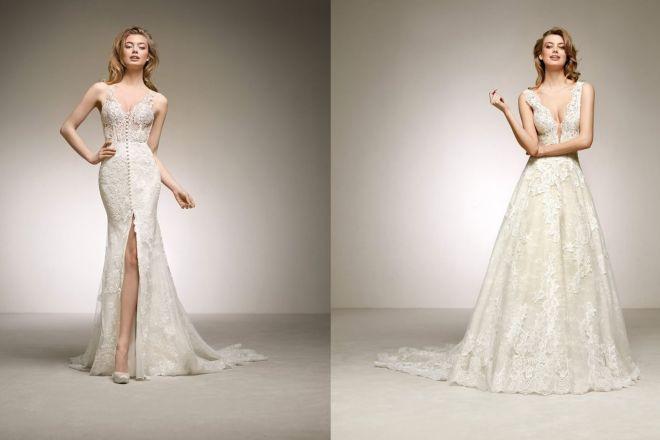 Pronovias 2019  gli abiti da sposa della nuova collezione 645d573b8fa