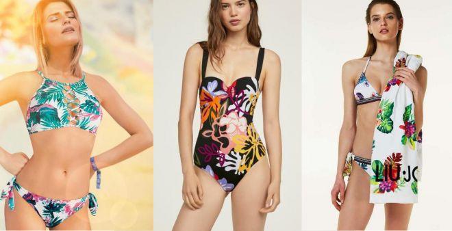 Costumi tropicali 2018: i modelli glamour dell'estate