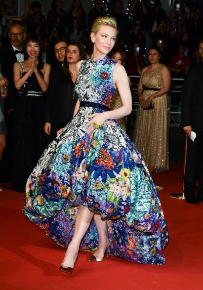 Cate Blanchett a Cannes in Mary Katrantzou