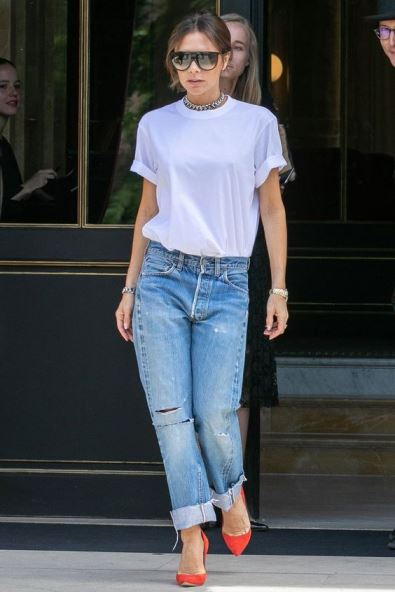Victoria Beckham, look casual