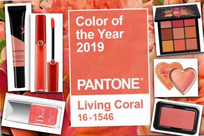 Make up living coral: fresco e femminile!