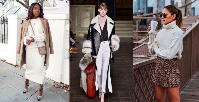 Bianco candido, come indossare il colore moda di gennaio 2019