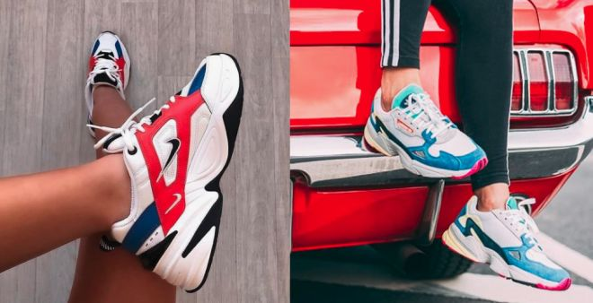 Sneakers chunky color block primavera estate 2019