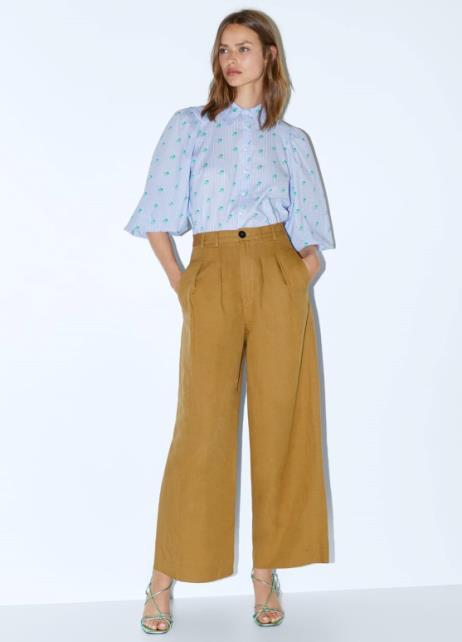 Camicia e pantalone lino Zara