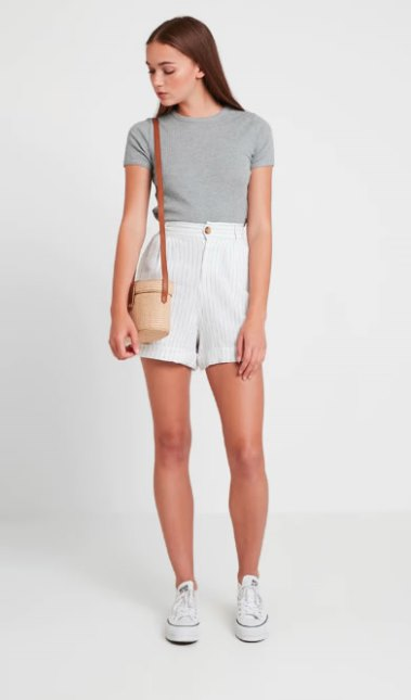 Look con shorts Only