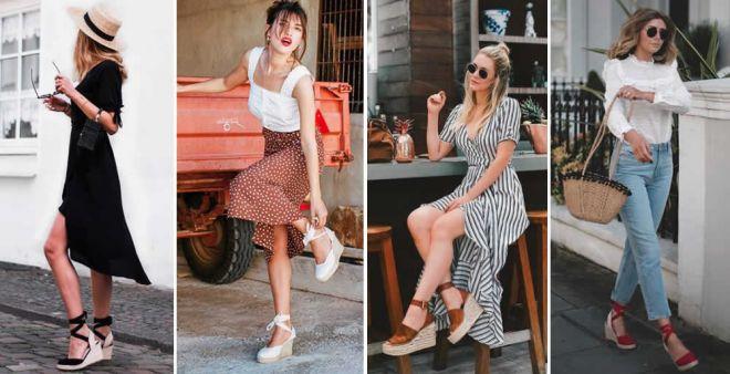 Ai piedi con le zeppe, le calzature belle e comode dell'estate 2019