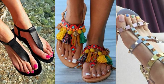 Come abbinare i sandali allo smalto? Consigli per mix cromatici perfetti